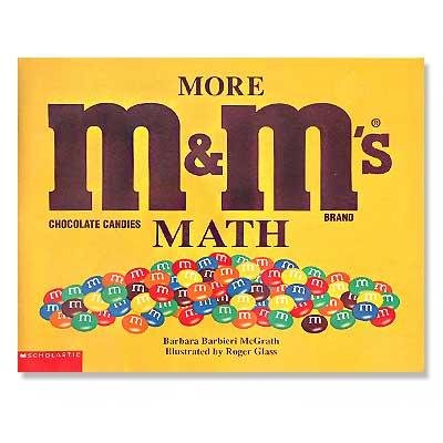 MORE M&M's MATH(ビンテージ本)