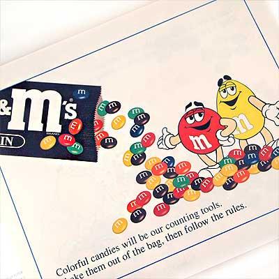 MORE M&M's MATH(ビンテージ本)【画像4】