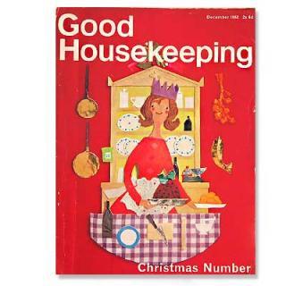 ビンテージ/アンティーク本 Good Housekeeping(ビンテージ本)