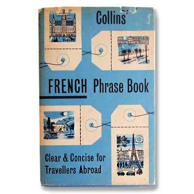 FRENCH Phrase Book(ビンテージ本)