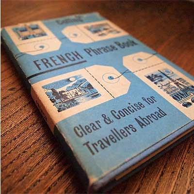 FRENCH Phrase Book(ビンテージ本)【画像2】
