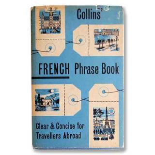 ビンテージ/アンティーク本 FRENCH Phrase Book(ビンテージ本)