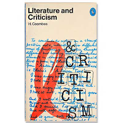 Literature and Criticsm(ビンテージ本)