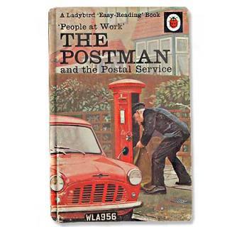 ビンテージ/アンティーク本 THE POSTMAN(ビンテージ本)