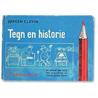 ビンテージ/アンティーク本 Tegn en historie(ビンテージ本)