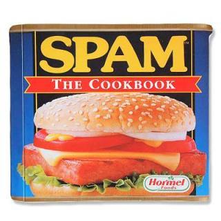 ビンテージ/アンティーク本 SPAM The Cookbook(ビンテージ本)