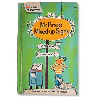ビンテージ/アンティーク本 Mr.Pine's Mixed-up Signs(ビンテージ本)
