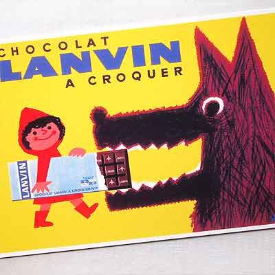 フランスポストカード (LANVIN)