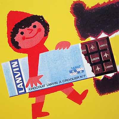 フランスポストカード (LANVIN)【画像3】