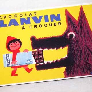 フレンチ雑貨  フランスポストカード (LANVIN)