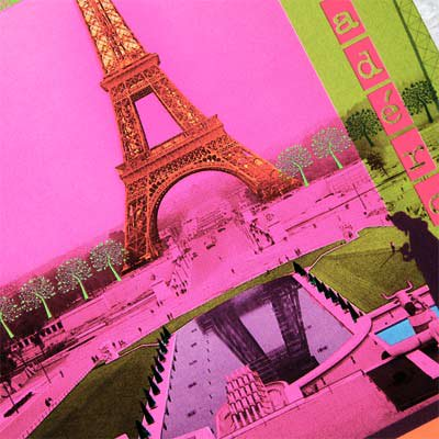 フランス エッフェル塔 ポストカード (PARIS Trocadero)【画像3】