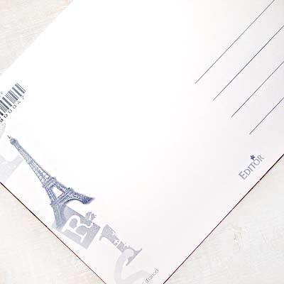 フランス エッフェル塔 ポストカード (Un petit mot de Paris)【画像4】