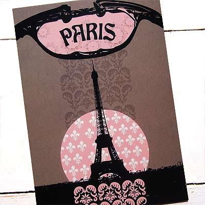 フランス エッフェル塔 ポストカード(PARIS)