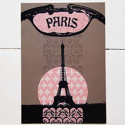 フランス エッフェル塔 ポストカード(PARIS)【画像2】