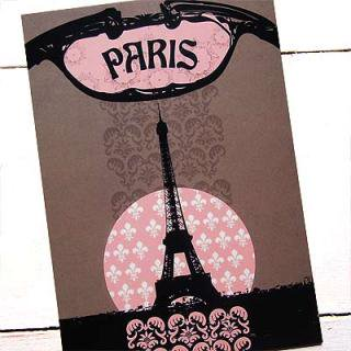ポストカード/フレンチ フランス エッフェル塔 ポストカード(PARIS)
