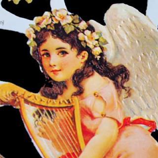 天使 エンジェル 雑貨 ドイツ クロモス【M】<フラワーエンジェル>