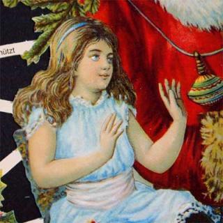 クリスマス(Xmas) 輸入 雑貨 ドイツ クロモス【M】<クリスマスベル>