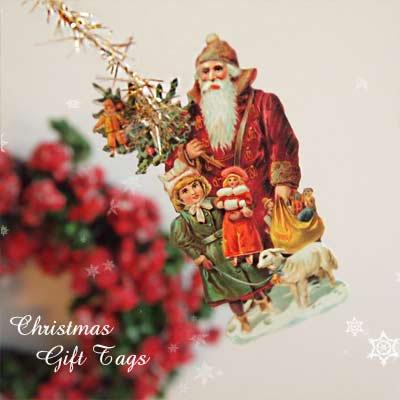 ドイツ クロモス【タグ】<サンタと子供たち A-TYPE>【画像4】