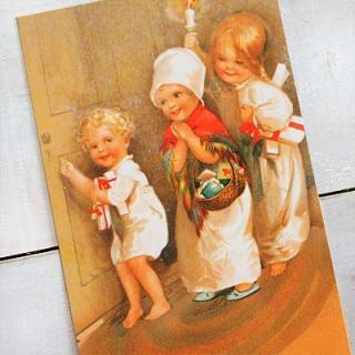 クリスマス(Xmas) 輸入 雑貨 フランスポストカード (Je etre tranquille)