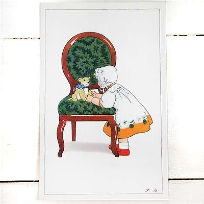 フランスポストカード (Green Chair)【画像2】