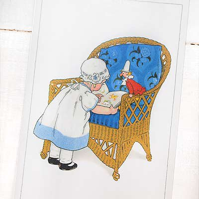 フランスポストカード (Blue Chair)