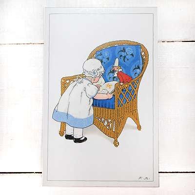 フランスポストカード (Blue Chair)【画像2】