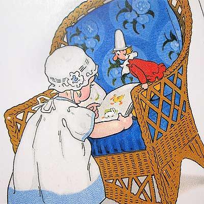 フランスポストカード (Blue Chair)【画像3】