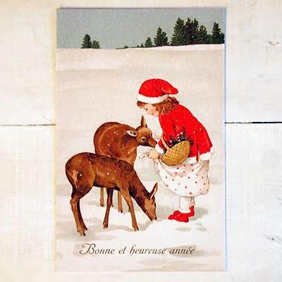 フランスポストカード(Bonne et heureuse annee)【画像2】