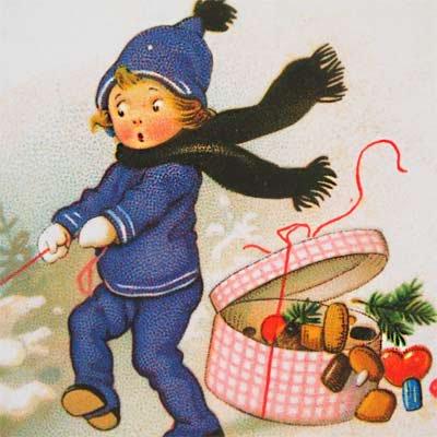 フランス クリスマスポストカード (Bonne Annee A)【画像3】