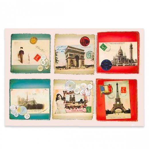 フランスポストカード (collage B-type)
