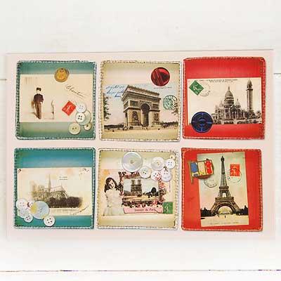 フランスポストカード (collage B-type)【画像3】