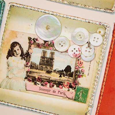フランスポストカード (collage B-type)【画像4】