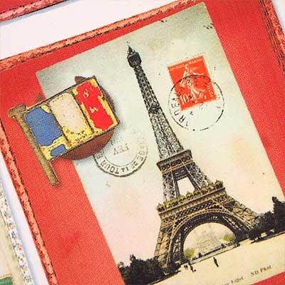 フランスポストカード (collage B-type)【画像5】