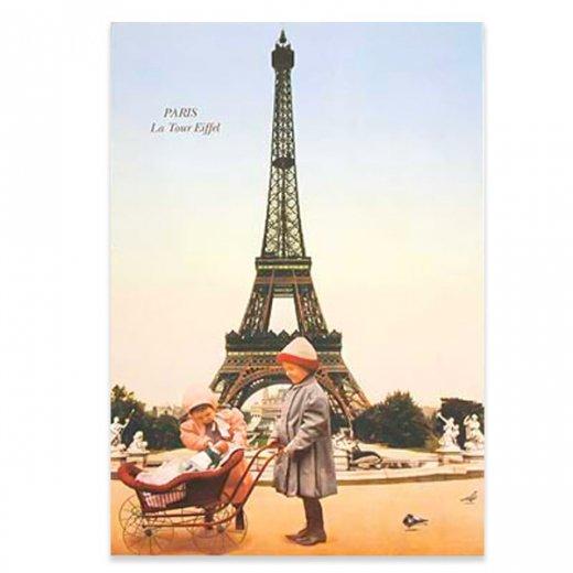 フランスポストカード (poussette)