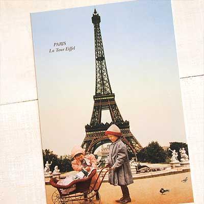 フランスポストカード (poussette)【画像2】