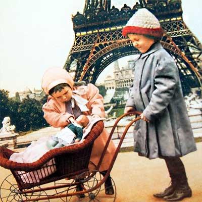 フランスポストカード (poussette)【画像4】