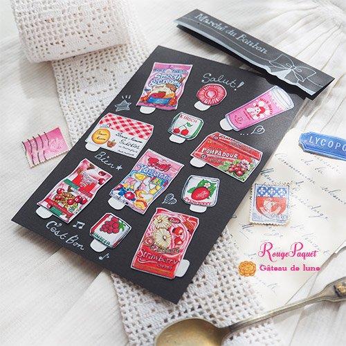 Gateau de lune シールset【Rouge Paquet】【画像2】