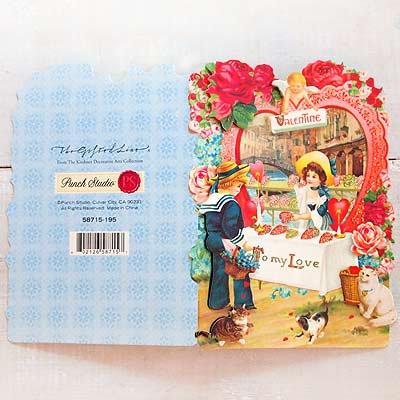 USA 3D バレンタインディーカード・封筒付 【Hart shop 〜Lサイズ】【画像3】
