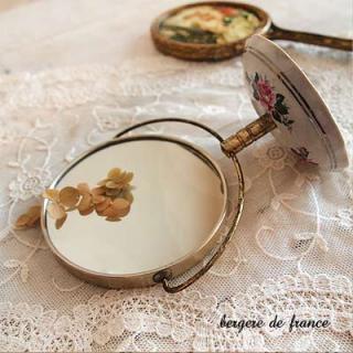 SOLDOUT フランス  アンティークミラー(鏡)【bergere de france】