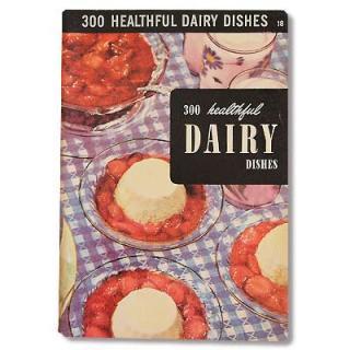 アメリカ1950年 Culinary Arts Institute DAIRY レシピ本(ビンテージ本)