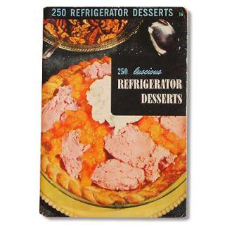 ビンテージ/アンティーク本 アメリカ1950年 Culinary Arts Institute DESSERTS レシピ本(ビンテージ本)