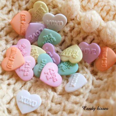 Dress It Up ボタン&パーツSet(Candy kisses キャンディーキス)