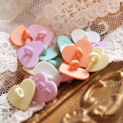 Dress It Up ボタン&パーツSet(Candy kisses キャンディーキス)【画像2】