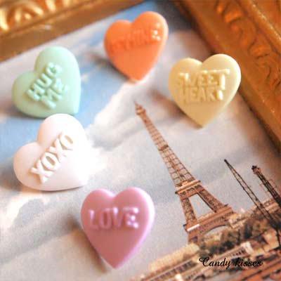 Dress It Up ボタン&パーツSet(Candy kisses キャンディーキス)【画像3】