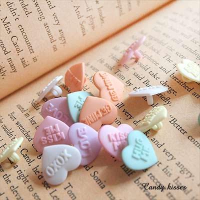 Dress It Up ボタン&パーツSet(Candy kisses キャンディーキス)【画像4】