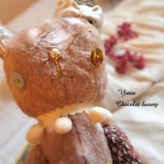 うさぎ ウサギ ラビット 雑貨 ショコラバニー 【Chocolat bunny】〜yuria手芸店