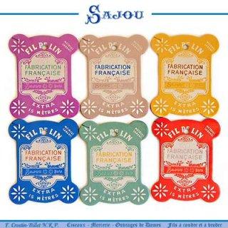 SAJOU(サジュー)手芸 フランス SAJOU (糸巻き6ヶセット)【CF-7 VIRE】