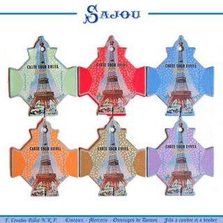 SAJOU(サジュー)手芸 フランス SAJOU (糸巻き6ヶセット)【CF-3 PARIS】