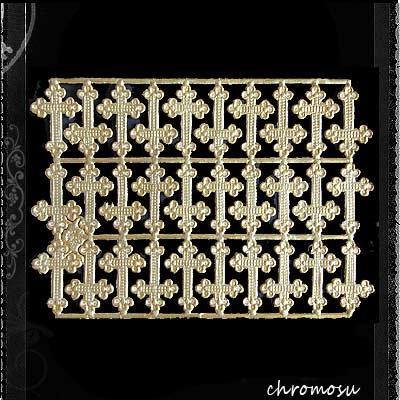 ドイツ Dresden ドレスデンペーパー 【十字架・クロス Mサイズ(単品パーツ売り)】【画像2】