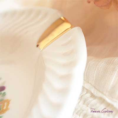 フランス アンティーク 灰皿 リモージュ窯 アッシュトレイ 【ビクトリアン】【画像3】